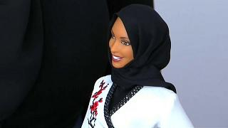 The new Barbie ... with a hijab