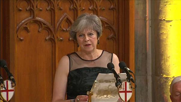 May accuses Moscow of meddling in elections