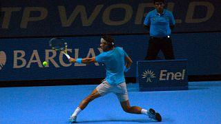 Nadal pierde contra Goffin, se retira de la Copa de Maestros y pone fin a su temporada