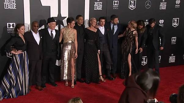 Stars hit red carpet for 'Justice League' world premiere