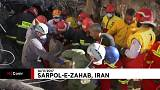 Rescuers sift through rubble after deadly Iran quake