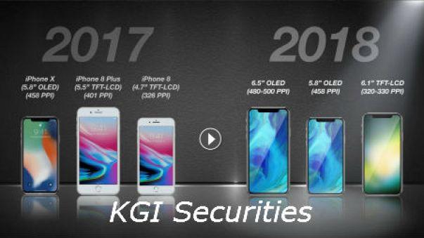 أبل قد تطرح 3 هواتف جديدة في عام 2018