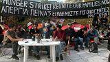 Αθήνα: Έληξε η απεργία πείνας των προσφύγων στο Σύνταγμα
