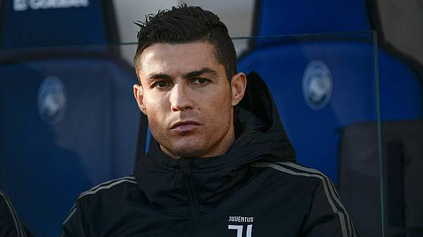 Cristiano Ronaldo looks on from the bench prior to a match on Dec. 26, 2018
