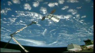 Cygnus успешно пристыковался