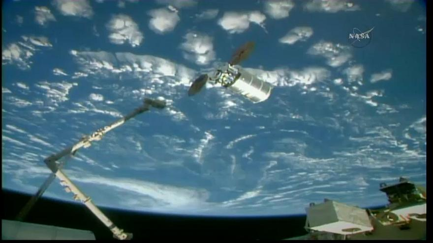 Cygnus mekiği Uluslararası Uzay İstasyonu'na ulaştı