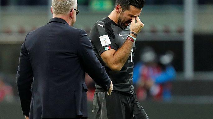 Buffon İtalya Milli Takımı'na gözyaşlarıyla veda etti