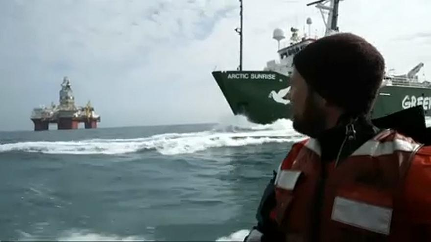"""""""Гринпис"""" добивается от Норвегии запрета на нефтедобычу в Арктике"""