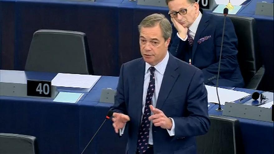 Nigel Farage hits out at George Soros over 'Brussels backing'