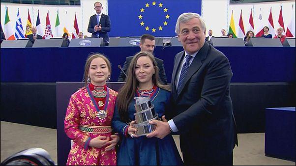 """Europarlamento: omaggio al film sui lapponi """"Sami blood"""""""