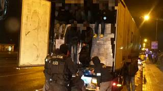 Embercsempészeket fogtak Szlovákiában