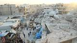 61 قتيلا في قصف بريف حلب.. وواشنطن وموسكو تلتزمان الصمت