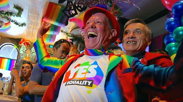 """Australianos disseram """"sim"""" ao casamento homossexual"""