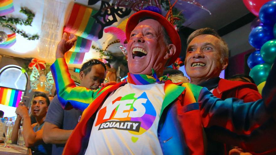 Australia votes for gay marriage