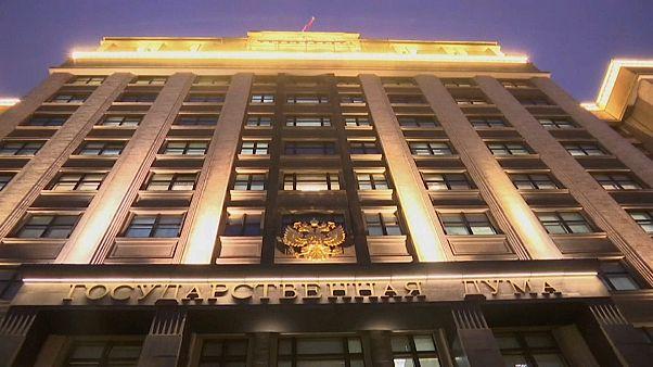 Staatsduma verabschiedet Gesetz gegen ausländische Medien