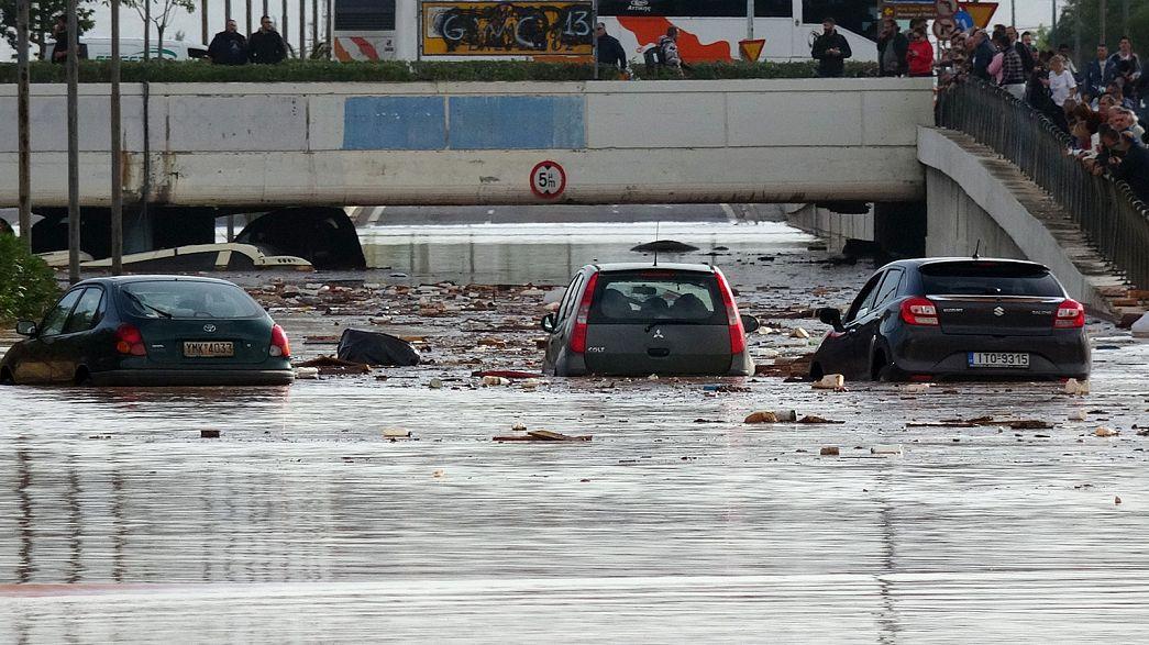 Flash floods in Greece kill at least 15