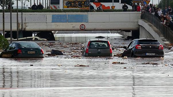 Flash floods in Greece kill at least 15