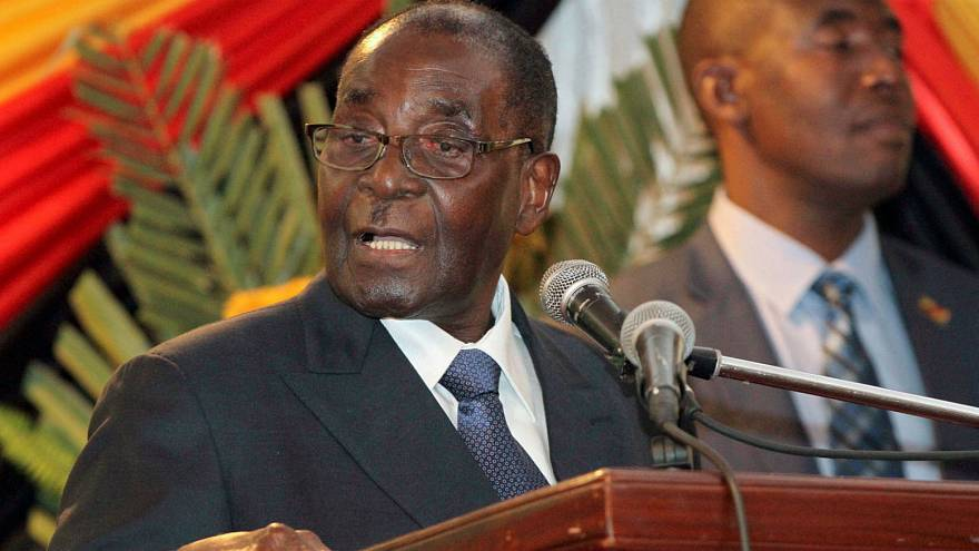 Robert Mugabe, 37 years as president of Zimbabwe