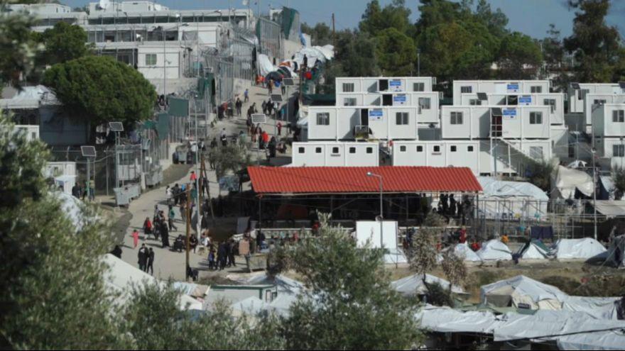Túlzsúfolt menekülttábor