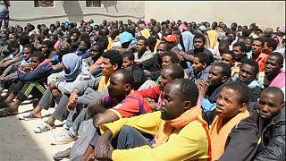 Libya'da sığınma kamplarında insanlık dramı
