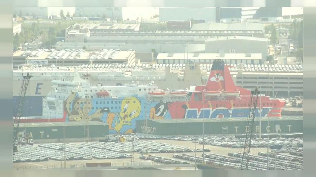 The Loony Tunes police boat is leaving Catalonia