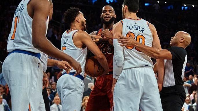 NBA'da Enes Kanter LeBron James tartışması sürüyor