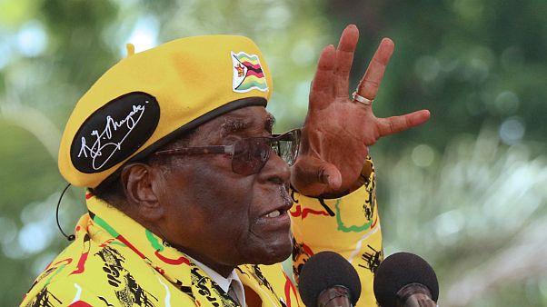 Mugabe confirma a Zuma que está detido em casa