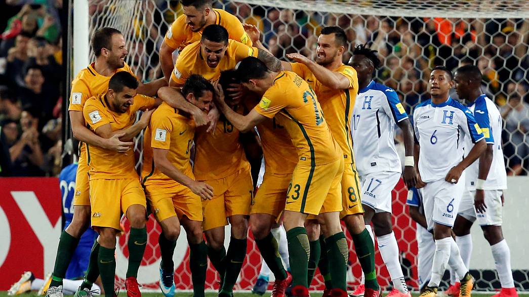 Australia qualify for 2018 World Cup