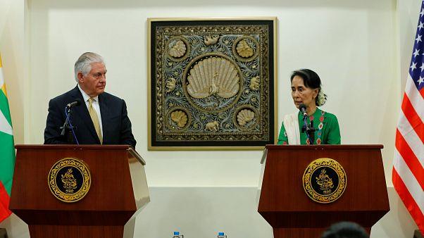 US-Außenminister Tillerson in Myanmar