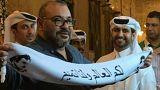 من فبرك صورة العاهل المغربي في قطر؟