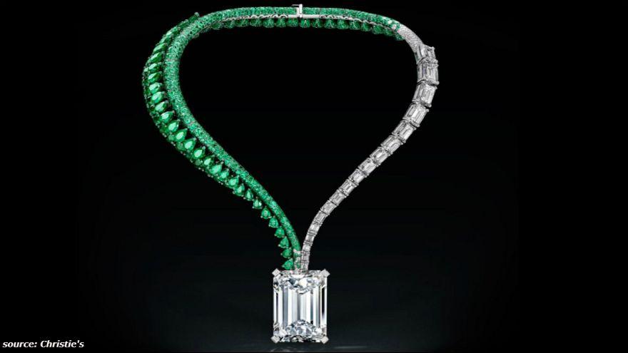 زیباترین گردنبند الماس جهان به قیمت ۳۳/۵ میلیون دلار فروخته شد