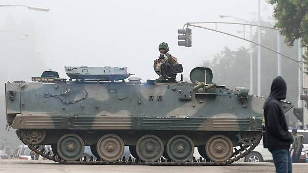 Army takes control in Zimbabwe