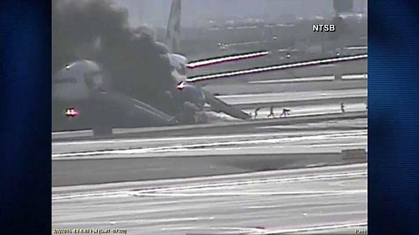 Αεροπλάνο πήρε φωτιά την ώρα της απογείωσης! – ΒΙΝΤΕΟ