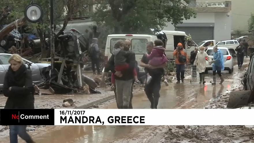 At least 15 dead in flash floods in Greece