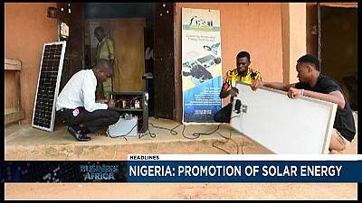 Entrepreneur pushes solar energy in power troubled Nigeria [Business Africa]
