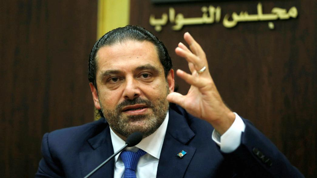 Lebanon's Saad al-Hariri to arrive in France 'in coming days' with family, a source inside Presidential palace says