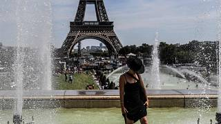 Image: France hot weather