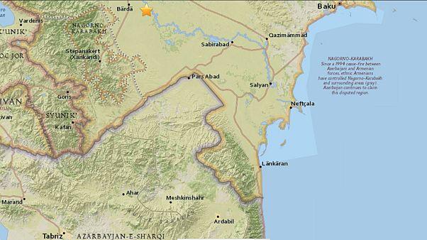 زمین لرزۀ ۵.۱ ریشتری استان اردبیل را لرزاند