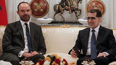 Édouard Philippe poursuit à Rabat sa tournée au Maghreb