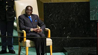 [Photos] Zimbabwe's leader since 1980: Mugabe met the high and mighty