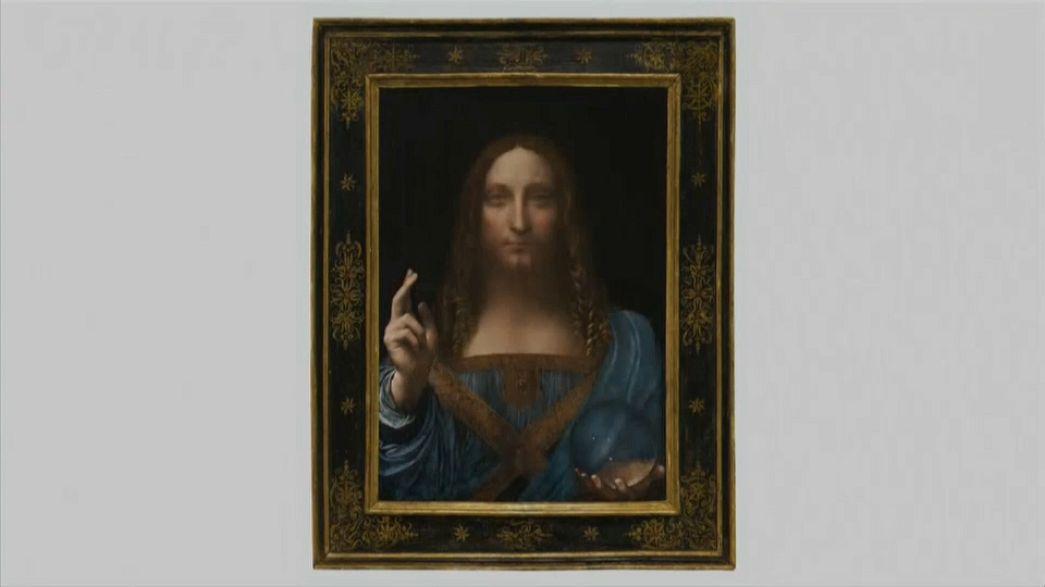 Quadro de Da Vinci licitado por 450 milhões