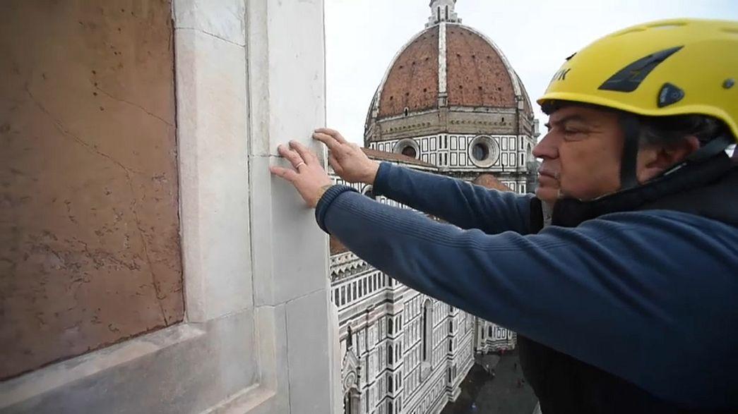 Wartung des Florentiner Doms