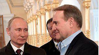 Путин - посредник в освобождении пленных военного конфликта в Донбассе