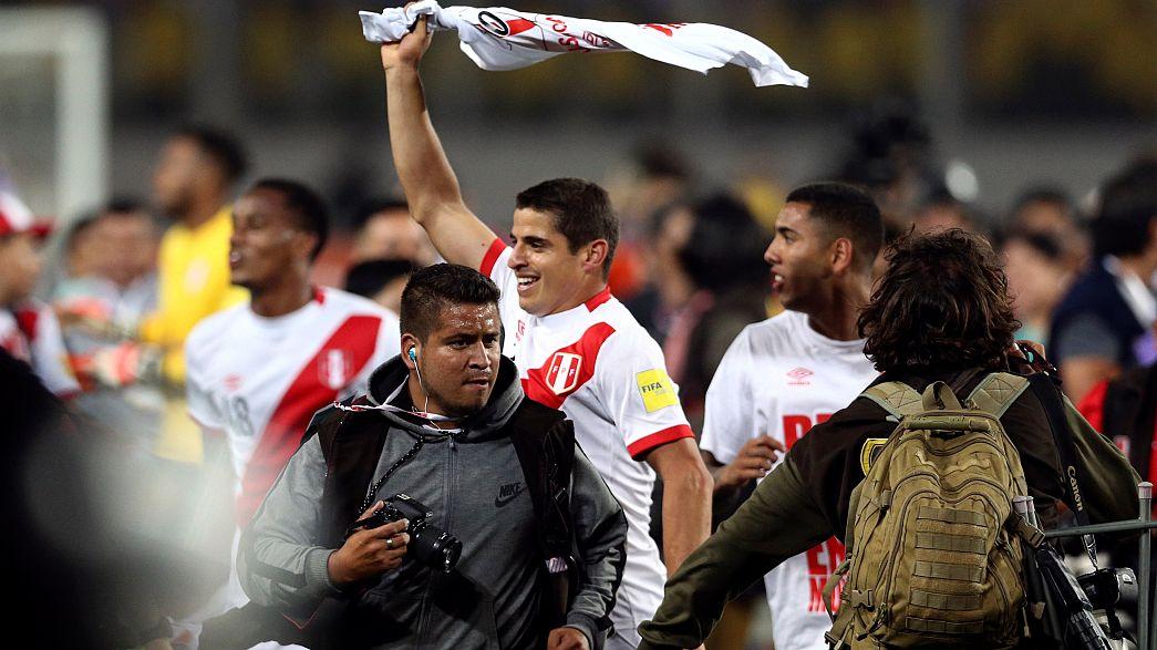 World Cup joy in Peru