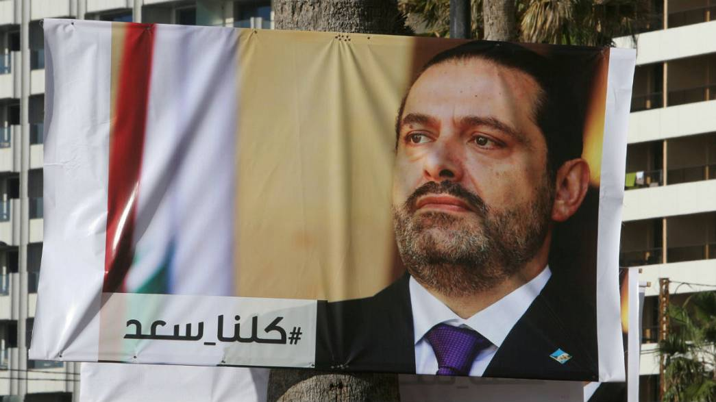 Lebanon's former PM to head to Paris, then Beirut