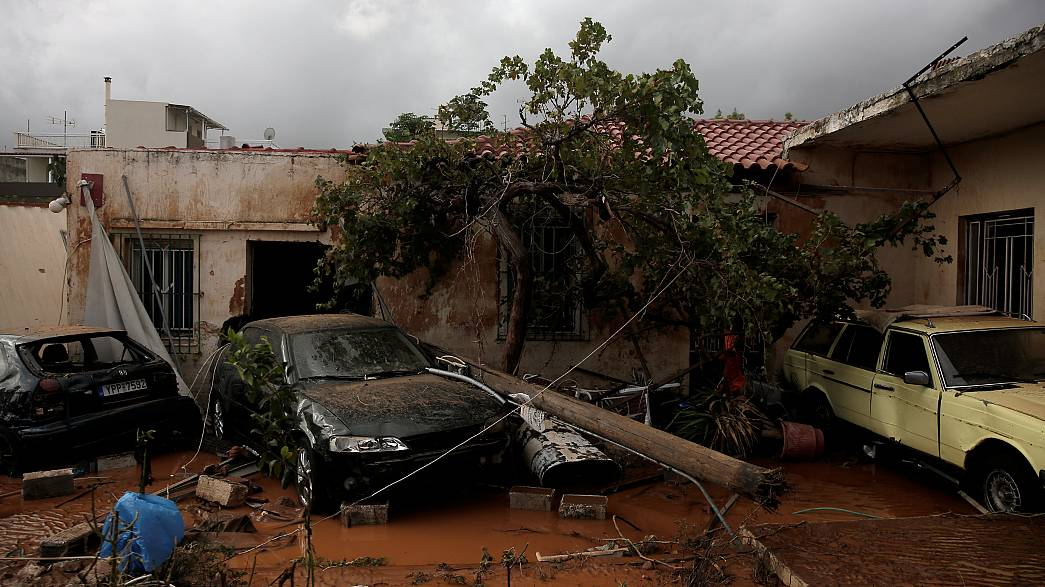 Greek PM promises full inquiry into deadly floods