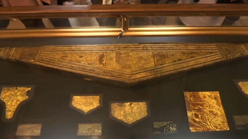 Tutankhamun'un 3 bin yıllık altın koleksiyonu Mısır'da