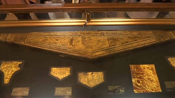 Unseen artefacts from Tutankhamun's tomb go on display