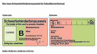 German teen with down syndrome changes the term on her disability ID card