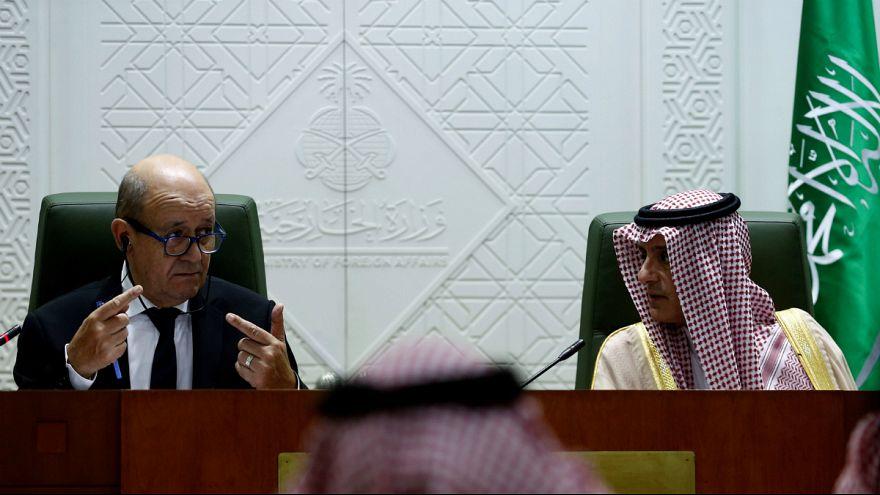 وزیر خارجه فرانسه در ریاض: وسوسه سلطهگری تهران در منطقه مایه نگرانی است
